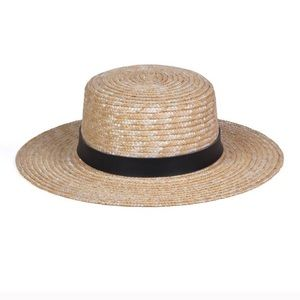 Lack of Spencer Boater Hat (55cm) Small